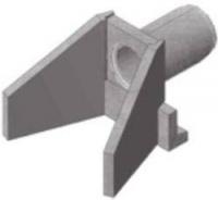 Лекальный блок, звено трубы круглое цилиндрическое №6а