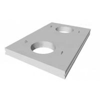 Плиты перекрытия тепловых камер ПТ 7и-1