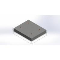 Блок фундаментных плит под коническое полукольцо БФТ413.150.24-91