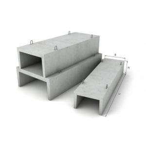 Блок фундамента Ф2-15-120 ЖБИ для железных дорог