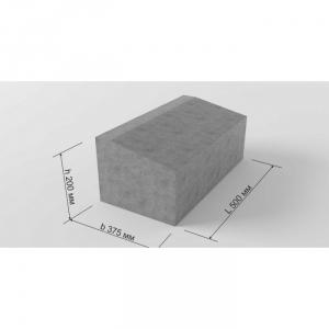 Блок бетонный Б2-20-40 ЖБИ для дорожного строительства