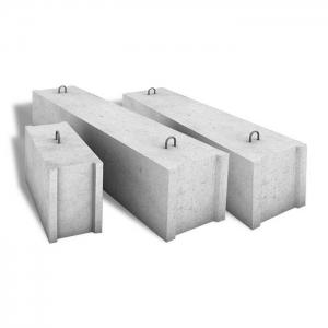 Фундаментный блок БФ1.99 ЖБИ для дорожного строительства
