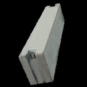 Блок фундамента Ф2-10-205 ЖБИ для дорожного строительства
