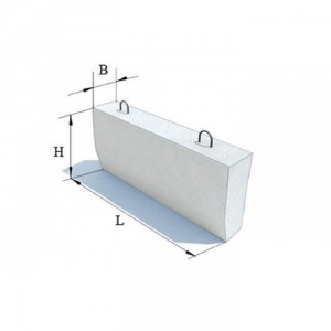 Блок бетонный Б5 ЖБИ для дорожного строительства