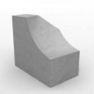 Блок фундамента Ф1п.л.-10-120 ЖБИ для дорожного строительства