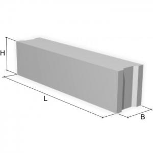 Блок фундамента Ф1п.л.-20-120 ЖБИ для дорожного строительства