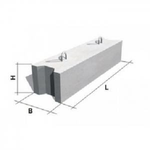Блок фундамента Ф1п.л.-20-90 ЖБИ для дорожного строительства