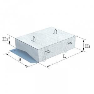 Блок укрепления П1 (плита) ЖБИ для дорожного строительства