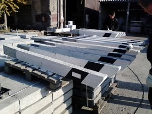 Столбик сигнальный С1ГОСТ 50970-2011 ЖБИ для дорожного строительства